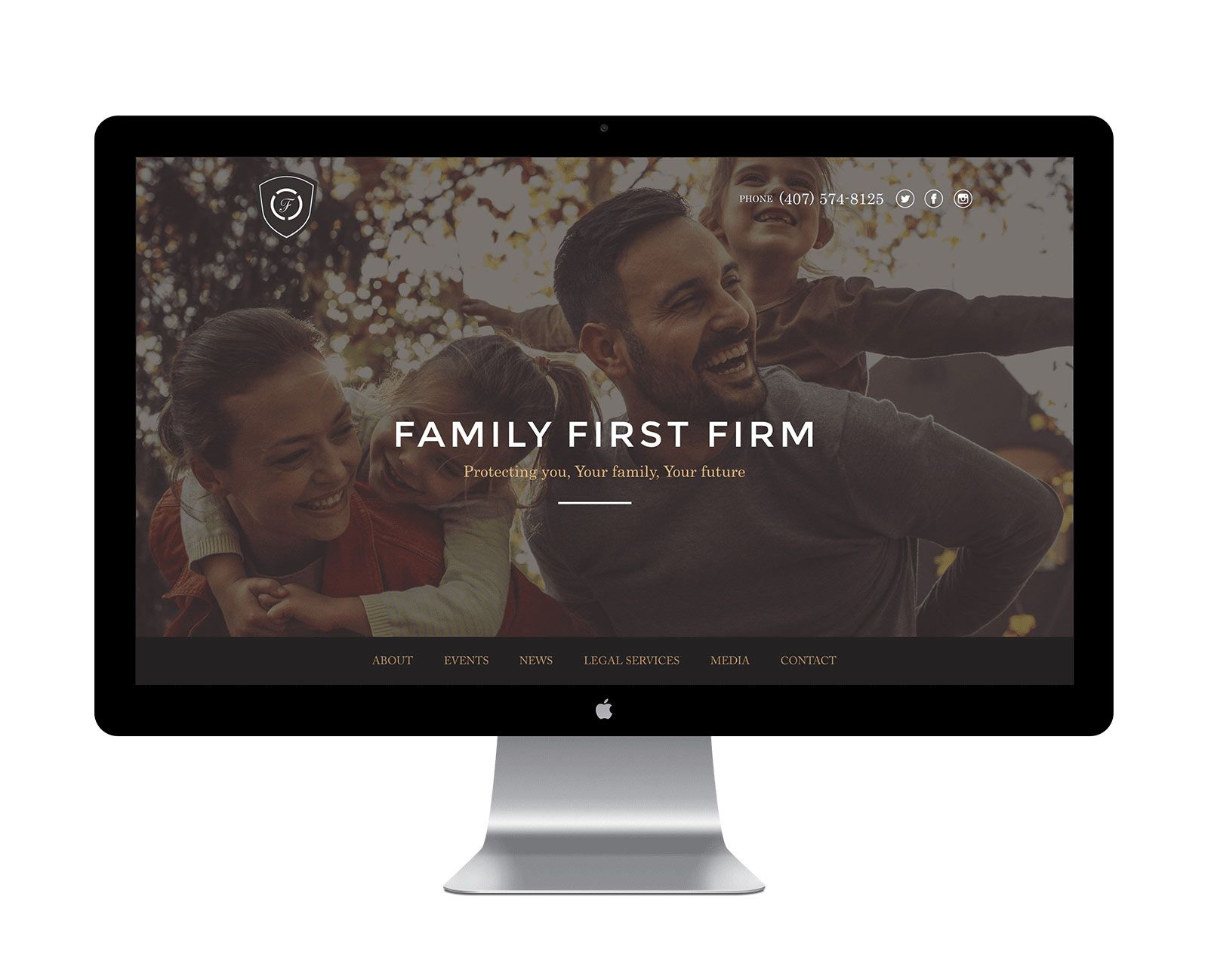 Family First Firm Homepage